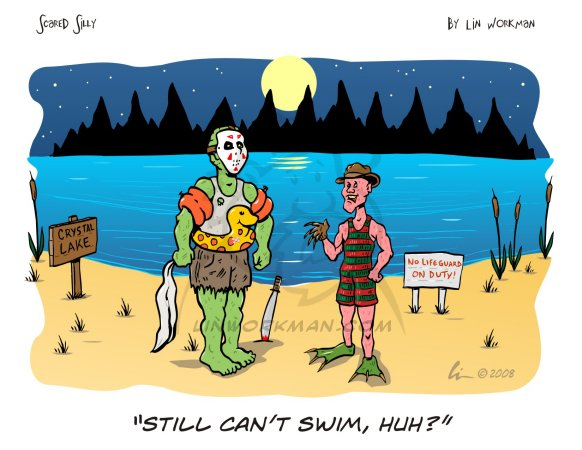can't swim