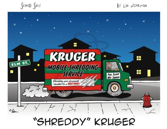 shreddy kruger