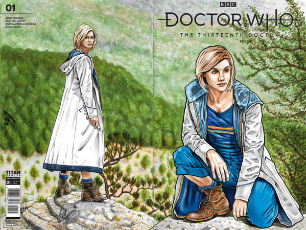 13th Doctor bk/fr