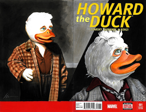 Howard The Duck BK/FR 2