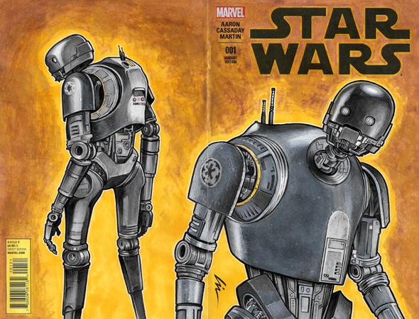 K-2SO back/front cover
