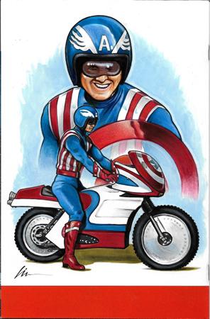 Reb Brown TV Captain America back