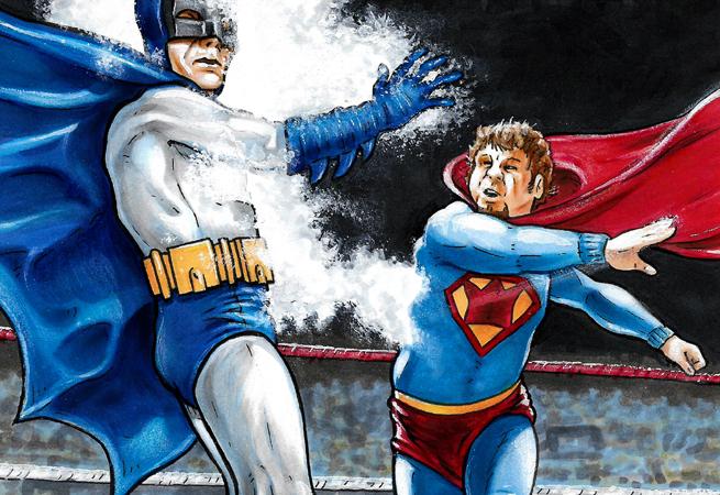 Batman VS Superking crop