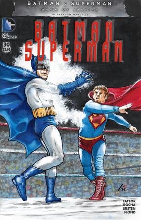 Batman VS Superking front