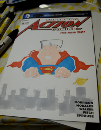Action Comics color