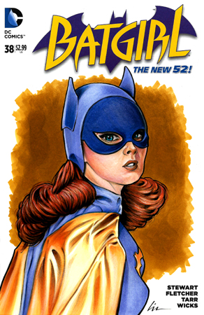 Yvonne Craig Batgirl bust front cover