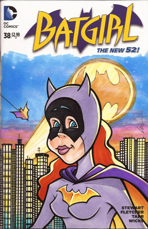 Batgirl toon front cover