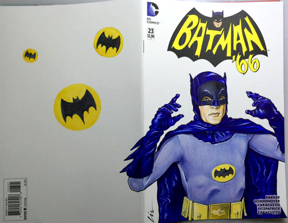 Batman 66 Adam - Back/Front