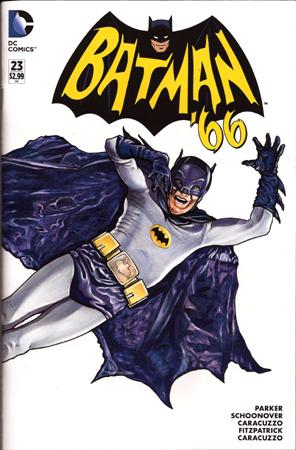Batman 66 Life front