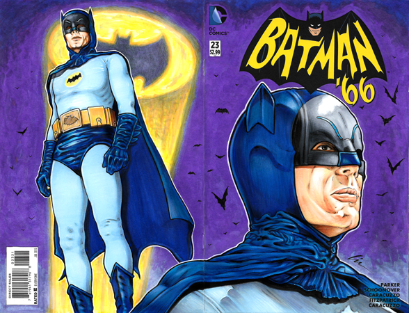 Batman 66 signal Bk/Fr