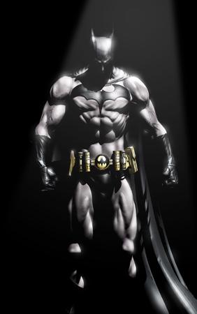 Batman standing 1