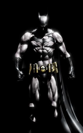 Batman standing 2