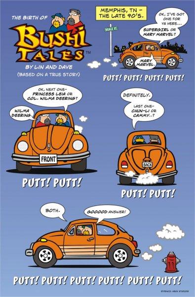 Birth of Bushi Tales pg 1