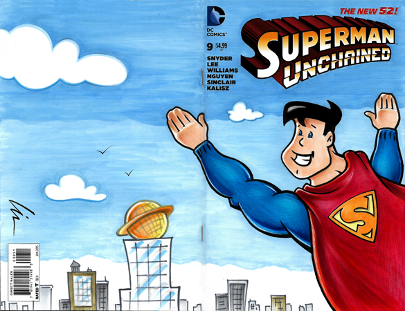 The Cellar Superman FCBD bk/fr