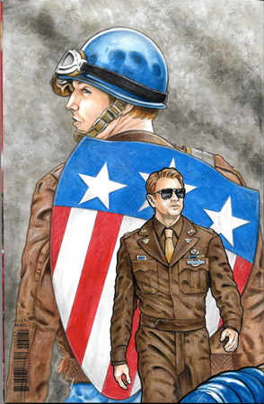 Chris Evans/Captain America bk