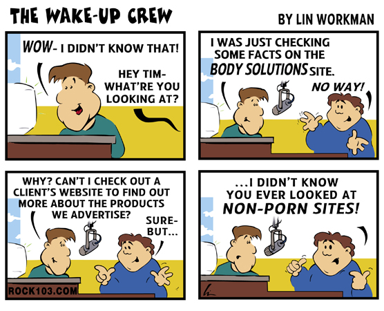 Wake-Up Crew lose weight