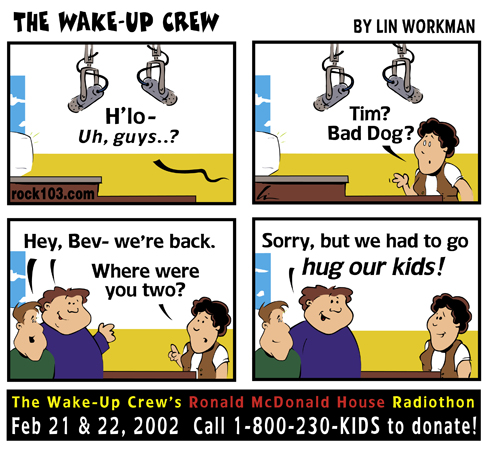 Wake-Up Crew RMH Radiothon 2002