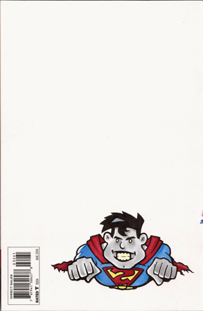 Dark Superman back cover