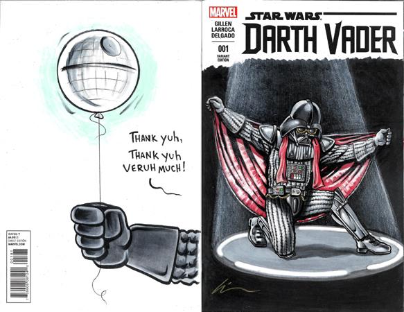 El Vader back/front