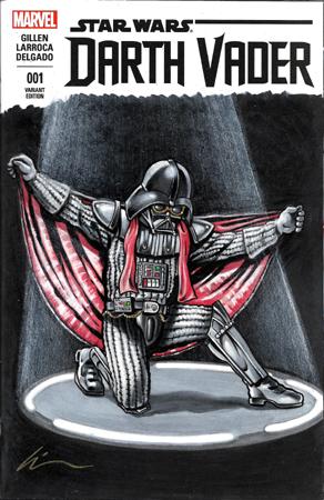 El Vader front