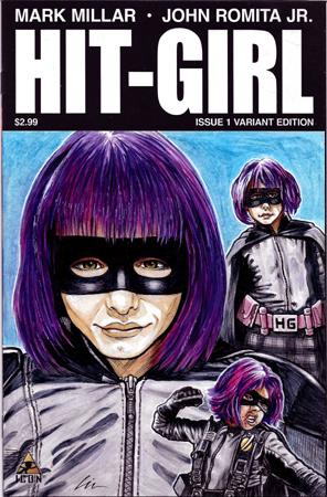 "Hit-Girl ""Kick-Ass"""