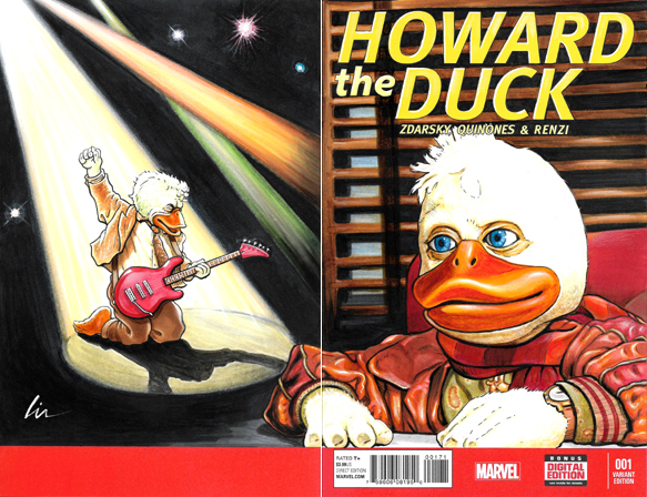 Howard The Duck BK/FR