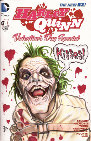 "joker ""Kisses"" back cover"