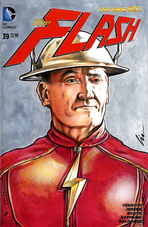 John Wesley Shipp Earth3 Flash Fr