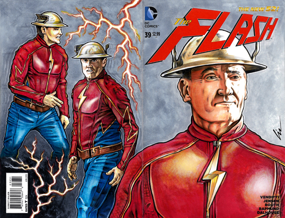 John Wesley Shipp Earth3 Flash Bk/Fr