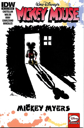 Mickey Myers Sketchcover