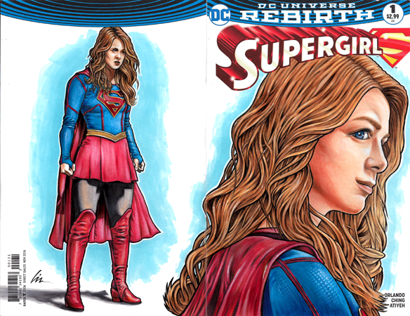 Nicki Supergirl Bk/Fr