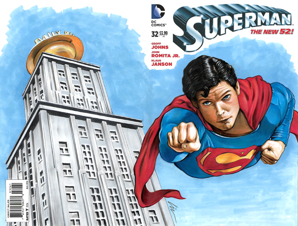 Superman Planet back/front cover