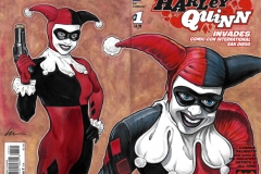 Harley Quinn SDCC back/front cover