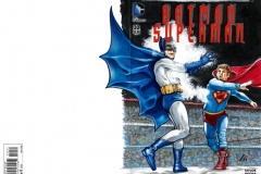 Batman VS Superking back/front cover