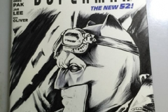 Batfleck Goggles B/W