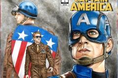 Chris Evans/Captain America bk/fr