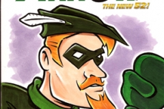 Green Arrow toon cover