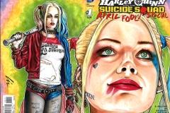 Margot Robbie/Harley Quinn bk/fr