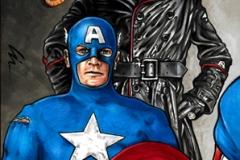 Captain America/Red Skull bk