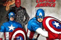 Captain America/Red Skull bk/fr