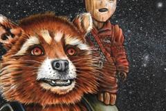Rocket Raccoon/Baby Groot fr