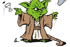 Shaken Yoda