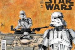 Star Wars Rogue One tank Bk/Fr