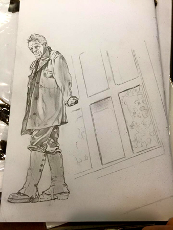 War Doctor Back Pencil