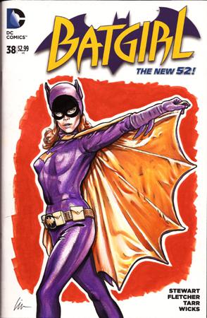 Yvonne Craig Batgirl front cover