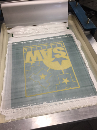 SAW Screen Print