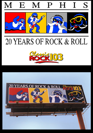 Evolution of Rock103 Walrus
