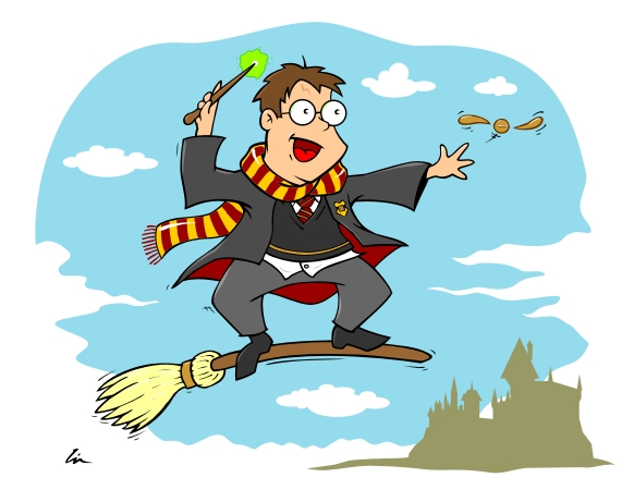 harry potter broom