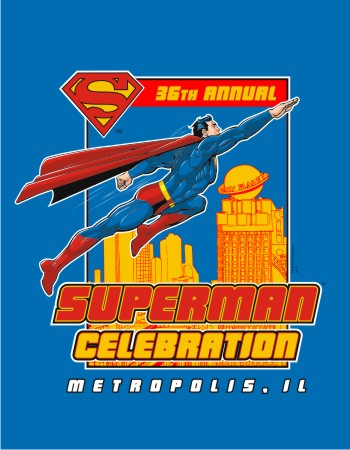 Metropolis Superman Celebration 2014 blue