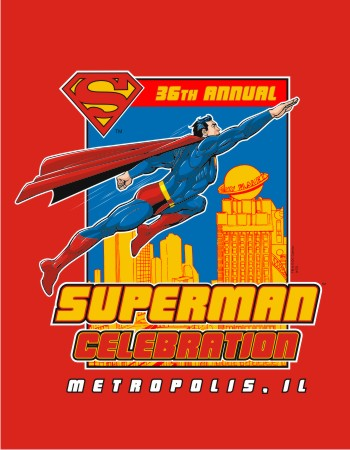 Metropolis Superman Celebration 2014 red